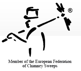 Member of the European Federation of Chimney Sweeps logo